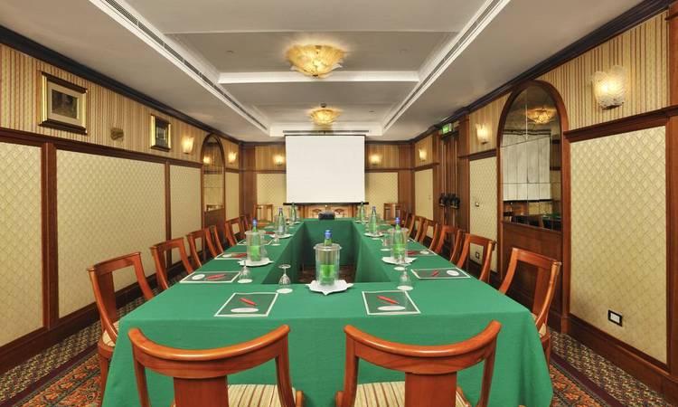 SALA LIBERIANA Mecenate Palace Hotel Roma