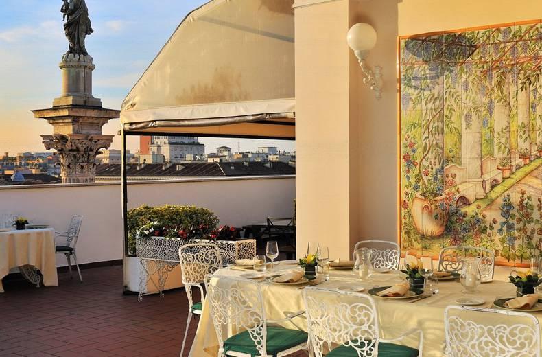 Gastronomia Mecenate Palace Hotel Roma Sito Ufficiale